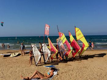 wind surf vieste